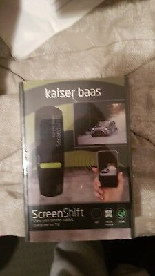Kaiser Baas Screenshift. Brand new and sealed