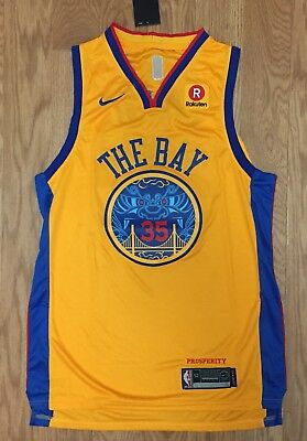 KEVIN DURANT JERSEY The Bay 54 Nike Mens golden state warriors ... 6f7587910