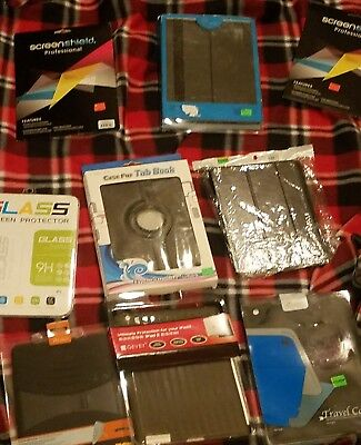 Lot Of 9 I Pad Covers. Mixed.