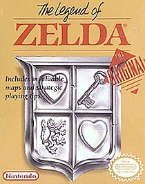 The Legend of Zelda 1 Nintendo NES 1987 Gold Game Cartridge Only Authentic WORKS