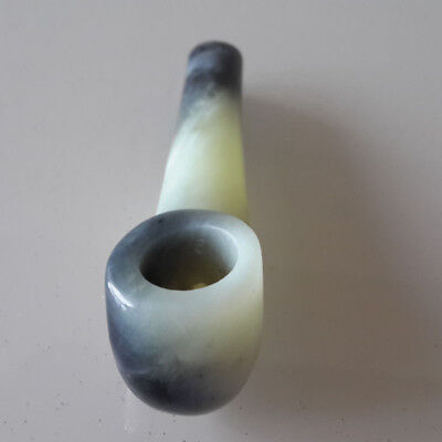 Handmade Stone Jade Smoking Pipe Bowl Ceramic Glass Crystal Metal Alternative