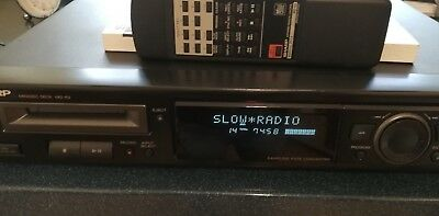 SHARP Minidisc Deck MD-R2 & 5 MDs, Player Recorder mit FB & BDA