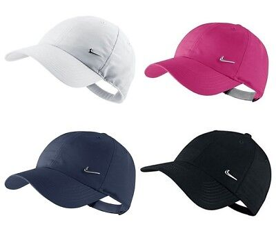cfc15f971 BOYS NIKE BASEBALL Caps Kids Junior Swoosh Metal Sports Golf Summer Hats  Black