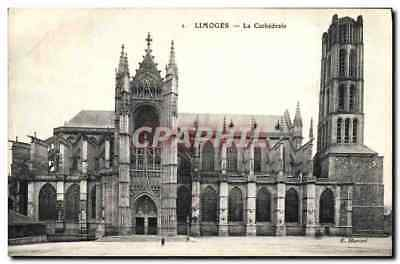 CPA Limoges La Cathedrale