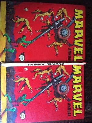 Marvel 1972(i pc)Superhero Comic Annual Vintage/original Stored 45 Approx Years.