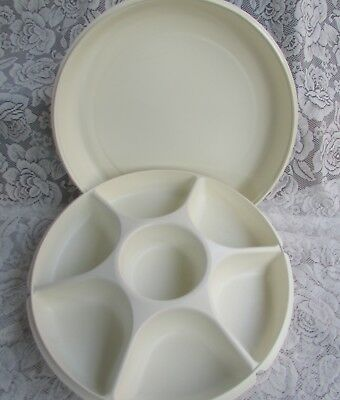 Tupperware large Serving Centre tray, great for dips