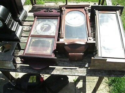 Job Lot Of Vintage Clocks Inc. Victoria Hall Fornby. Check All The Pictures