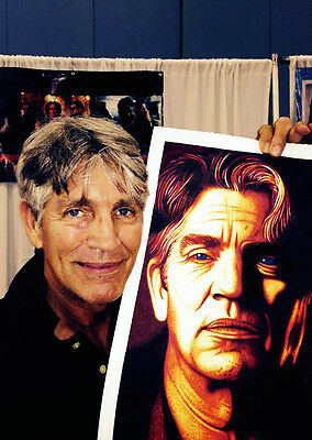 Eric Roberts Autographed /Signed Sharpie Artwork. Legendary B-Movie actor!!!
