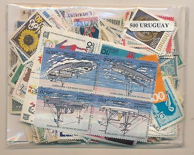 Uruguay Package 500 stamps different