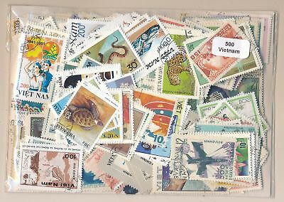 Viet Nam Package 500 stamps different