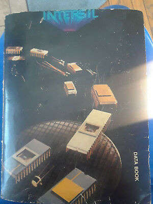 Intersil Data Book 1979 for integrated circuits, mosfets, CMOS, CMOS and more