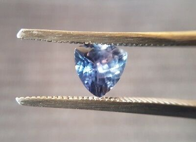 Natural trillion cut Tanzanite gemstone 0.90ct