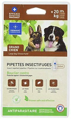 Demavic Insect Repellent Pipettes for Large Dog  20 kg