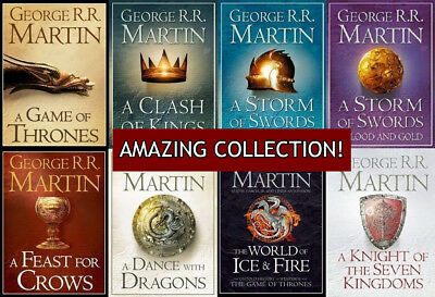 Game of Thrones (Song of Ice and Fire) Audiobooks Pack George R. R. Martin