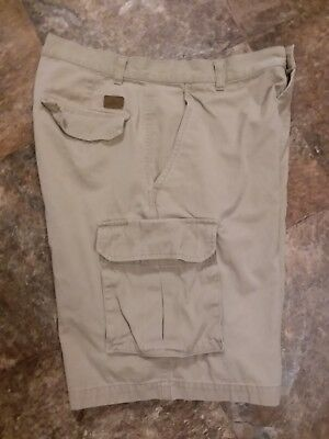 1a552aa919 Men's Dockers Cargo Shorts Size 32 Khaki Clor Soft Cotton Relaxed Fit Flat  Front