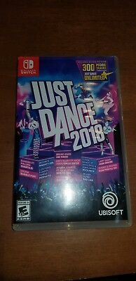 Just Dance 2018 (Nintendo Switch) adult Owned, Smoke free.