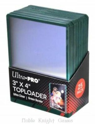 Ultra Pro 84916 3 x 4 Inch Top Loader 25-Piece