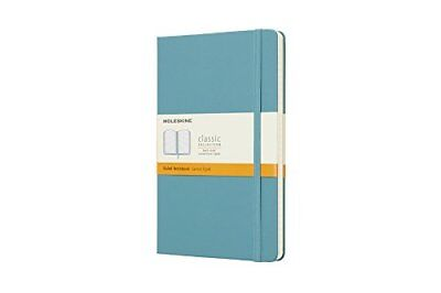 Moleskine Reef Blue Notebook Large Ruled Hard