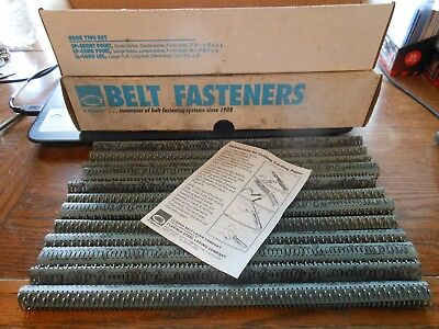 """Clipper Belt Fasteners C2S, 430SS, 12"""" Part # 02157 4 Boxes of 12 ( 48 Total )"""