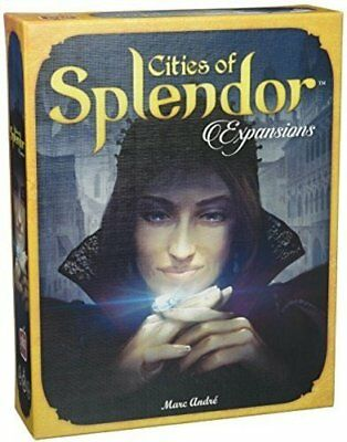 Space Cowboys SPL02 ASMSCSPL02US Cities of Splendor Expansion Board Game
