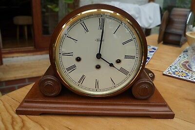 Mantel clock. Hermle  Westminster chime on bells. SEE VIDEO
