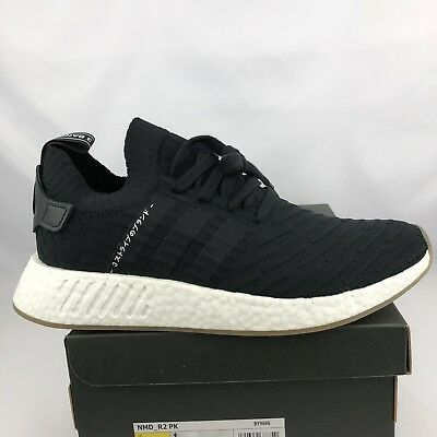 570a6e376f6851 Adidas Nmd R2 Pk Size 10.5 Mens Japan Core Black Gum White Boost BY9696
