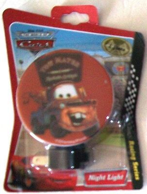 Disney ~ Cars, TOW MATER, Racing Series, Pixar, *Rare* NEW on Card ~ NIGHT LIGHT