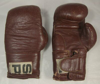 Vintage SP Boxing Gloves Made in England