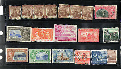 Trinidad and Tobago stamps selection, nice lot.