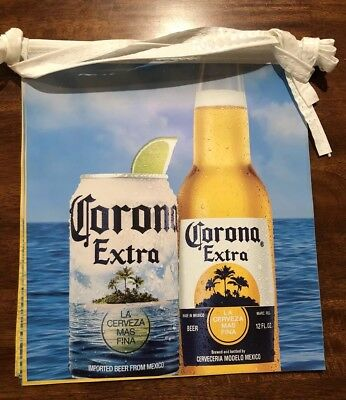 Corona Extra beer bottle Pennant beach summer themed string banner