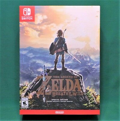 The Legend of Zelda Breath of the Wild Special Edition (Nintendo Switch) Sealed