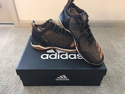 ac468b2148c0 Adidas Icon JRD Trainer Shoes, Jackie Robinson Day '17 Black/Brown/Gold