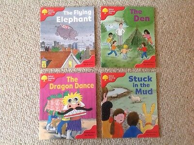 Oxford Reading Tree: Level 4: More Stories B and C: Pack of 4