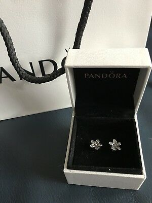 Pandora Daisy Stud Earrings New