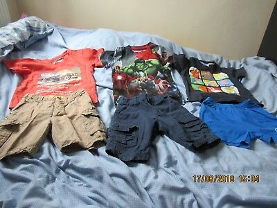Lovely Boys Summer Bundle 3-4 Years Very Good Condition