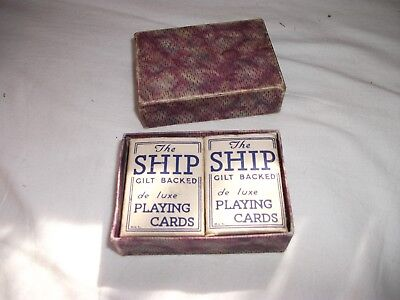 Vintage small playing cards