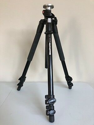 Manfrotto 190XPROB 3-Section Aluminum Pro Tripod