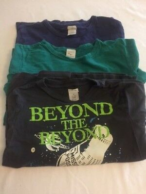 Crewcuts boys lot of 3 long-sleeve t-shirts size 8