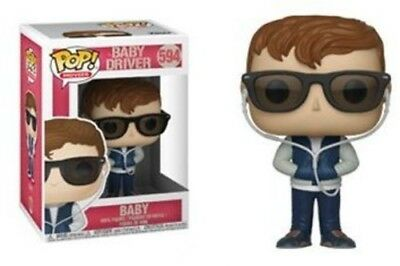 Baby Driver - Baby - Funko Pop! Movies: (2018, Toy NEUF)