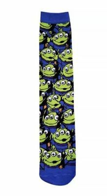 BRAND NEW Disney Parks Toy Story Little Green Alien Socks - Adult - One Size