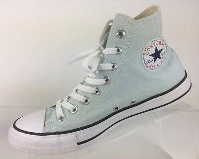 14621bc6dd25 Converse Chuck Taylor ALL STAR Hi High Top Mint White Sneakers Women 11 Men  9