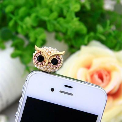 SIANCS Owl 3.5mm Anti Dust Plug Cap for iPhone or Samsung