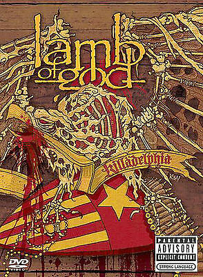 Lamb of God - Killadelphia (DVD, 2005) Parental Advisory Explicit Content