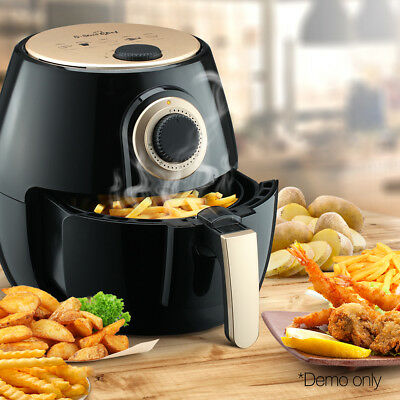 5 Star Chef Air Fryer Healthy Cooker Oil Free Low Fat Deep Fry Food 4L 1300W