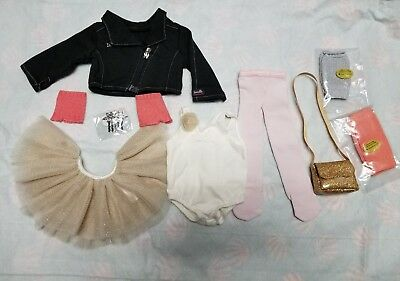 American Girl Isabelle/'s Mix /& Match Outfit # 17 Leotard Tutu Legwarmers