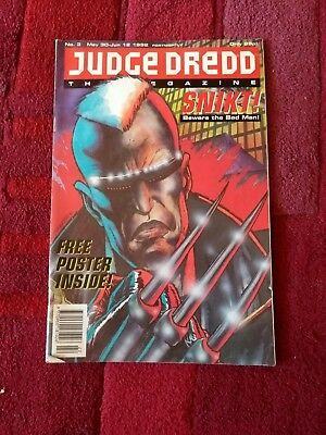 Judge Dredd the Megazine no.3 with free poster 1992