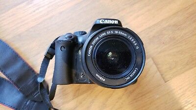 Canon EOS Rebel T2i / EOS 550D 18.0MP Digital SLR Camera with 18-55 mm lens