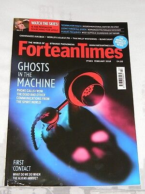 FORTEAN TIMES #363 February 2018 Ghosts in the Machine