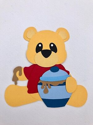 Pooh Bear - fully assembled die cut / paper piecing