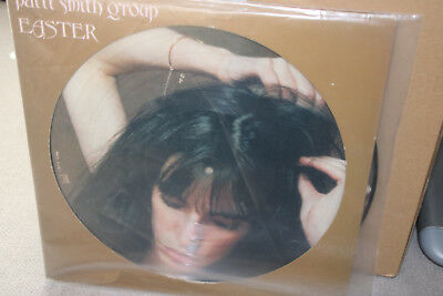 LP PICTURE DISC Patti Smith Group Easter 1979 ORIGINAL French Press VG++/NM TOP